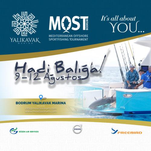 Yalıkavak Marina® – Main Sponsor Of Most Fishing Tournament On 9-12 August