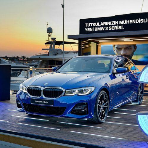 The BMW 3-Series Tour Stops-Off at Yalıkavak Marina