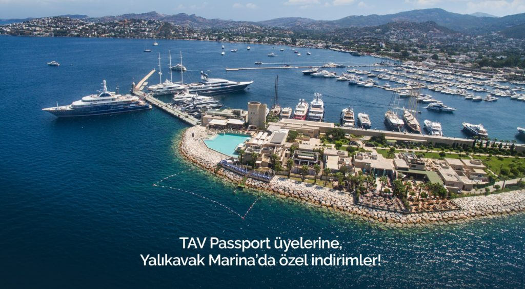 Special Offers Available for TAV Passport Holders at the Yalıkavak Marina!