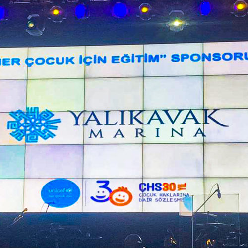 Yalıkavak Marina sparked a light of hope for the children's future at the UNICEF HOPE Gala!
