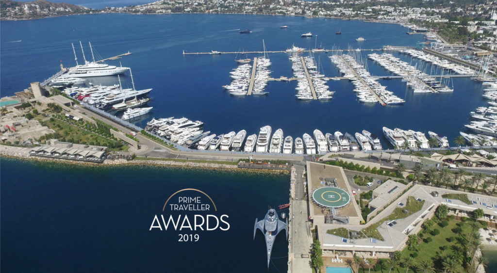 Yalıkavak Marina was announced as the winner of Prime Traveller Awards 2019 of the top Prime Traveller Magazine in Russia