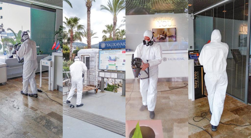 Yalıkavak Marina Takes Precautions against Coronavirus COVID19