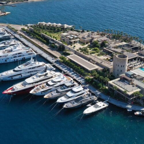 "Yalıkavak Marina's ""Island Zone"" is home to some of the world's top luxury brands!"