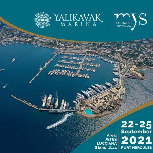 Yalıkavak Marina Represents Turkey at the Monaco Yacht Show 2021!